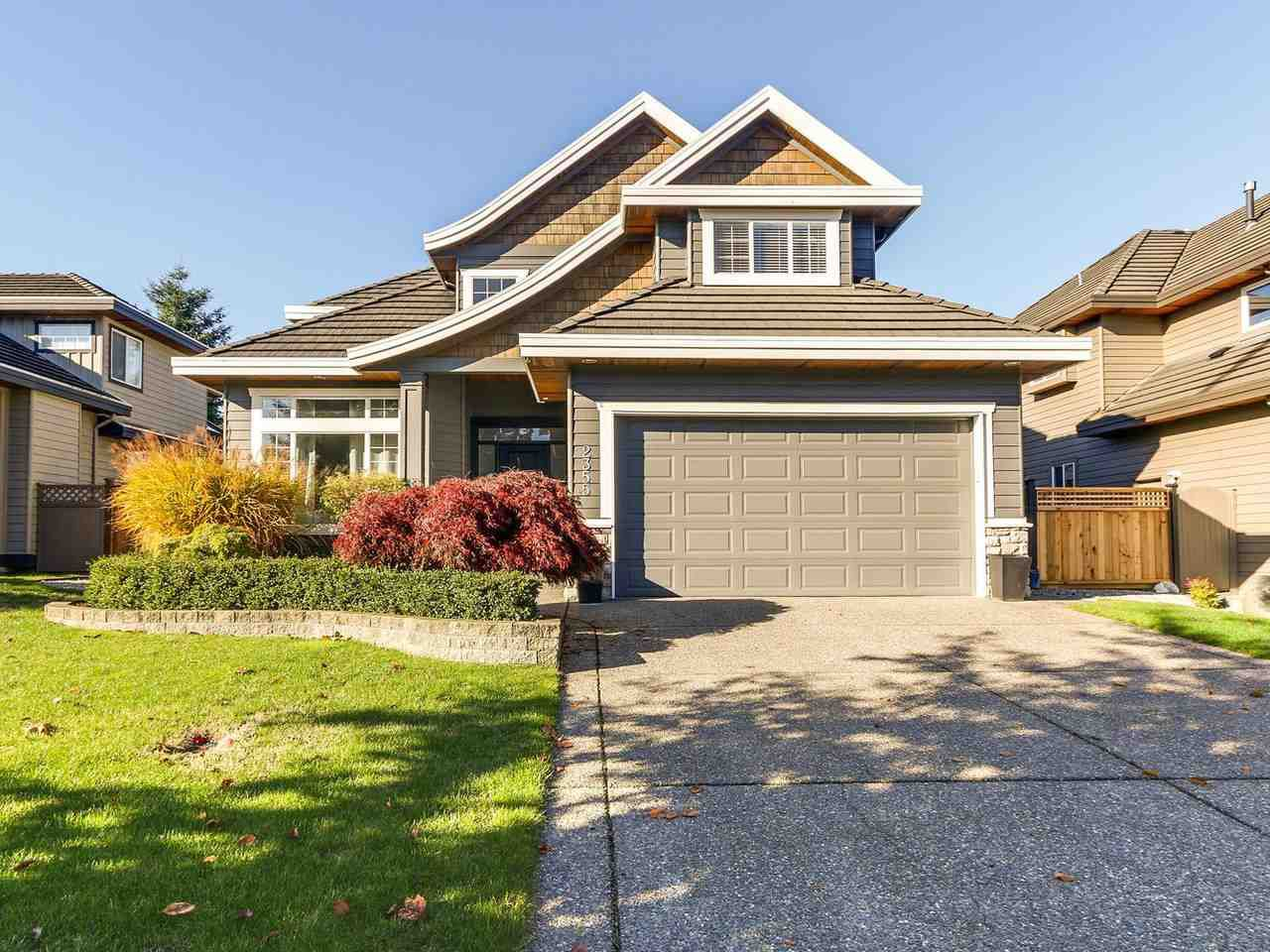 """Main Photo: 2355 150 Street in Surrey: Sunnyside Park Surrey House for sale in """"Meridian By The Sea"""" (South Surrey White Rock)  : MLS®# R2236790"""