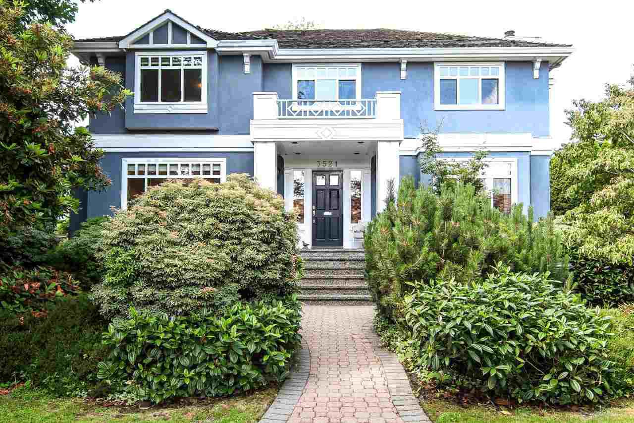 Main Photo: 3521 W 40TH AVENUE in Vancouver: Dunbar House for sale (Vancouver West)  : MLS®# R2083825