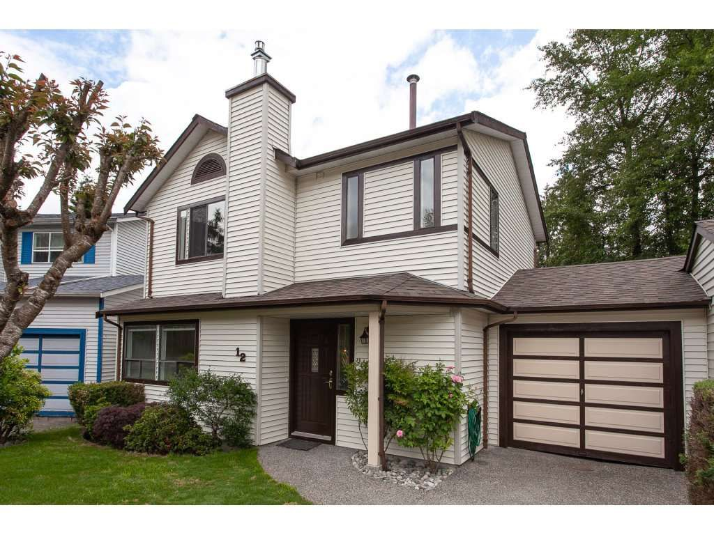 """Main Photo: 12 11125 232 Street in Maple Ridge: East Central Townhouse for sale in """"Kanaka Village"""" : MLS®# R2274166"""