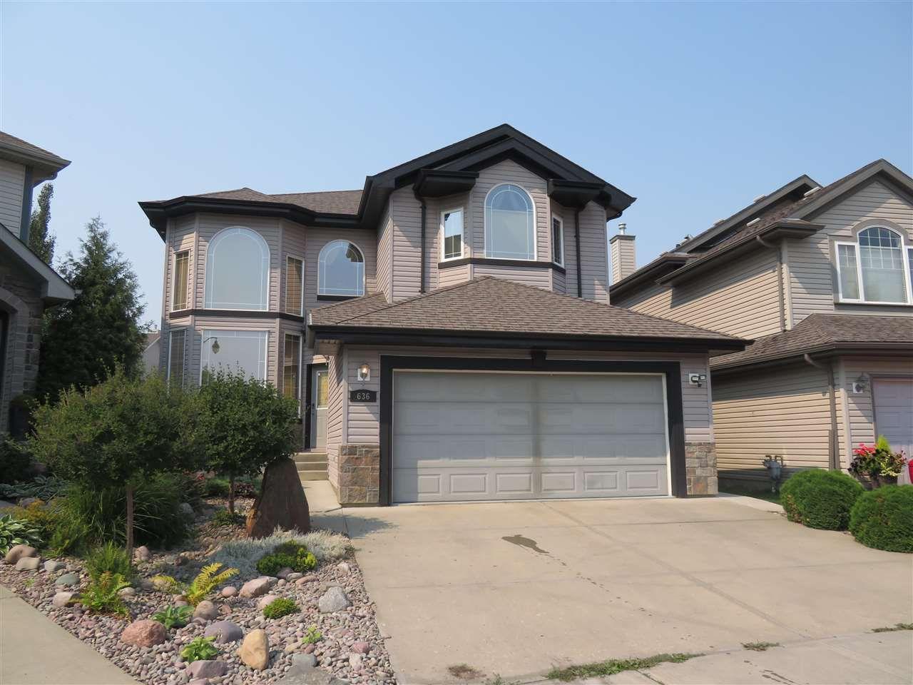 Main Photo: 636 HODGSON Road in Edmonton: Zone 14 House for sale : MLS®# E4129242