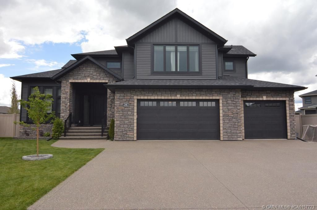Main Photo: 26 Van Horn Close in Red Deer: RR Vanier East Residential for sale : MLS®# CA0157723