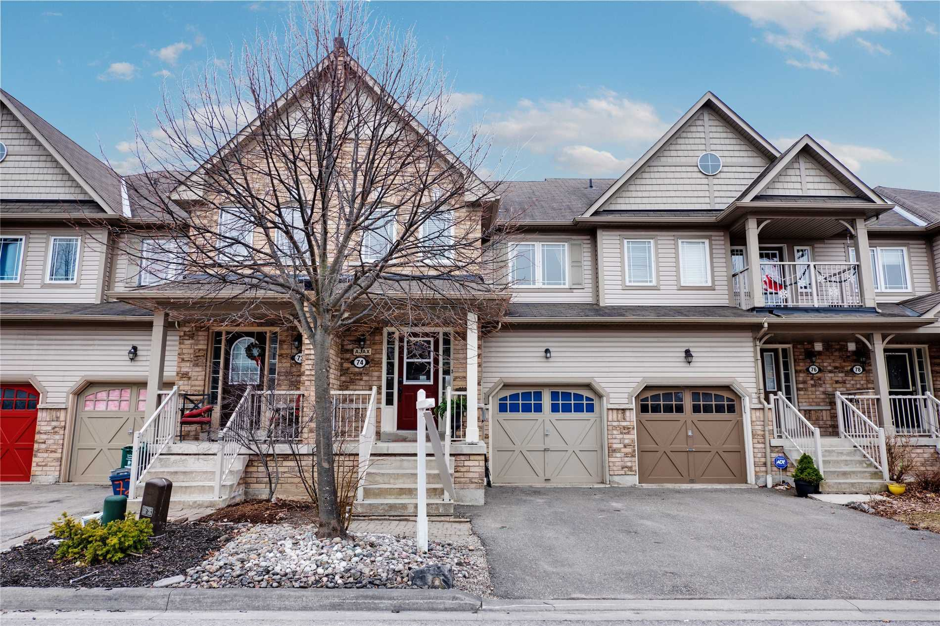 Main Photo: 74 Whitefoot Crescent in Ajax: South East House (2-Storey) for sale : MLS®# E4413541