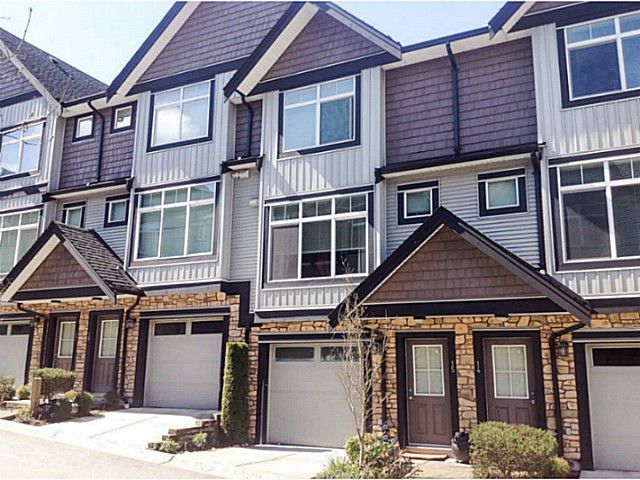 "Main Photo: 15 6299 144TH Street in Surrey: Sullivan Station Townhouse for sale in ""ALTURA"" : MLS®# F1407948"