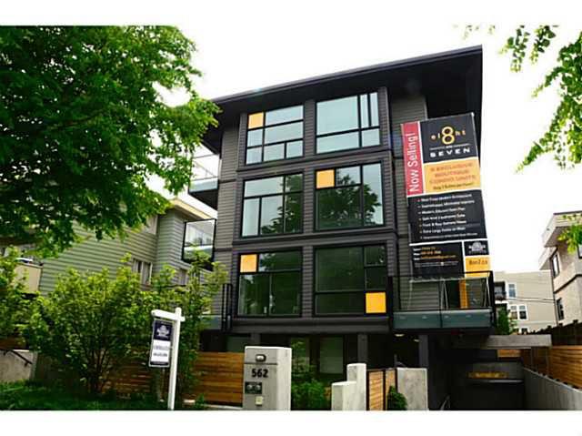 Main Photo: 202 562 E 7TH Avenue in Vancouver: Mount Pleasant VE Condo for sale (Vancouver East)  : MLS®# V1063802