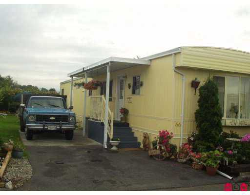 "Main Photo: 66 8254 134TH ST in Surrey: Queen Mary Park Surrey Manufactured Home for sale in ""WETWOOD"" : MLS®# F2616026"