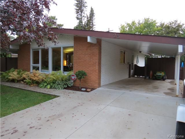 Main Photo: 23 Mercury Bay in WINNIPEG: Manitoba Other Residential for sale : MLS®# 1423695