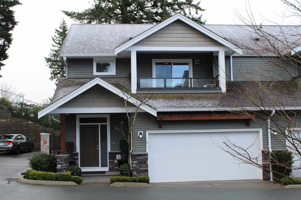 """Main Photo: 8 34130 OLD YALE Road in Abbotsford: Central Abbotsford Townhouse for sale in """"Arbour Ridge"""" : MLS®# R2143618"""