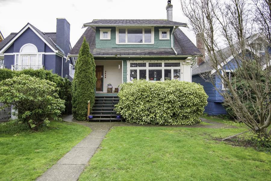 Main Photo: 3616 W 5TH Avenue in Vancouver: Kitsilano House for sale (Vancouver West)  : MLS®# R2156281