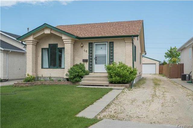 Main Photo: 44 Glencairn Road in Winnipeg: Riverbend Residential for sale (4E)  : MLS®# 1719118