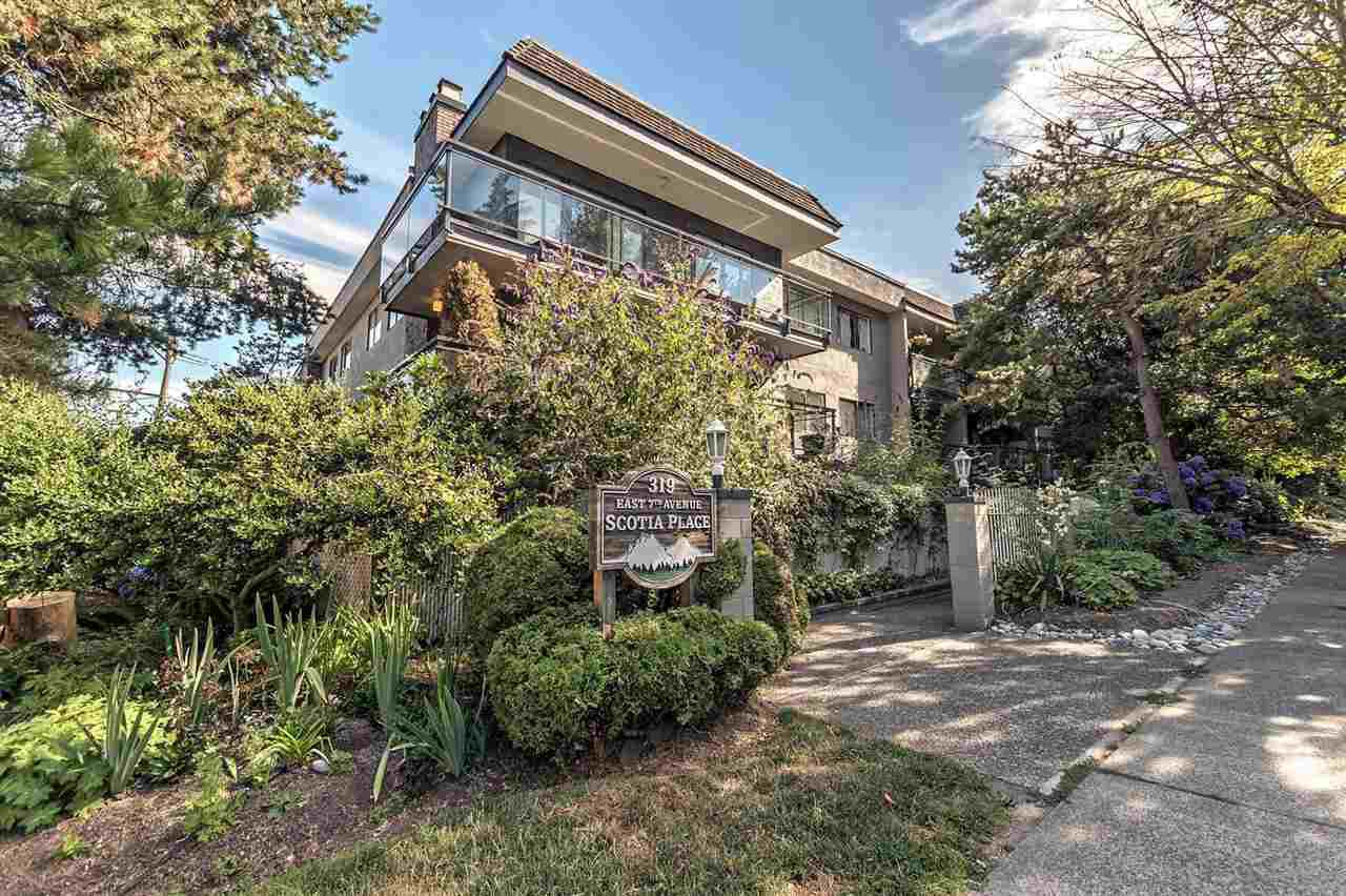"""Main Photo: 103 319 E 7TH Avenue in Vancouver: Mount Pleasant VE Condo for sale in """"SCOTIA PLACE"""" (Vancouver East)  : MLS®# R2191941"""