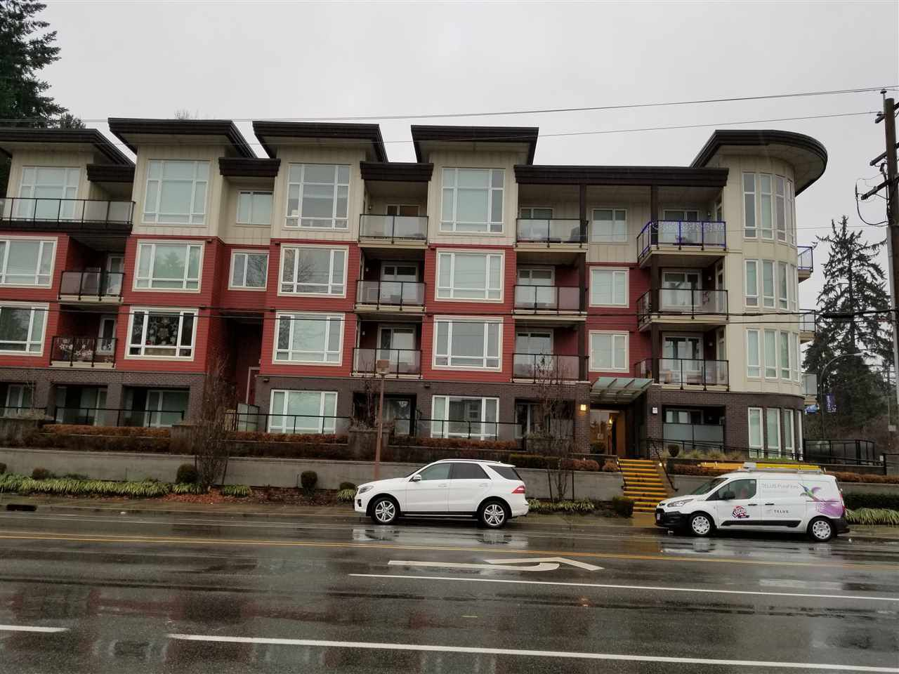 Main Photo: 211 1188 JOHNSON STREET in Coquitlam: Eagle Ridge CQ Condo for sale : MLS®# R2229319