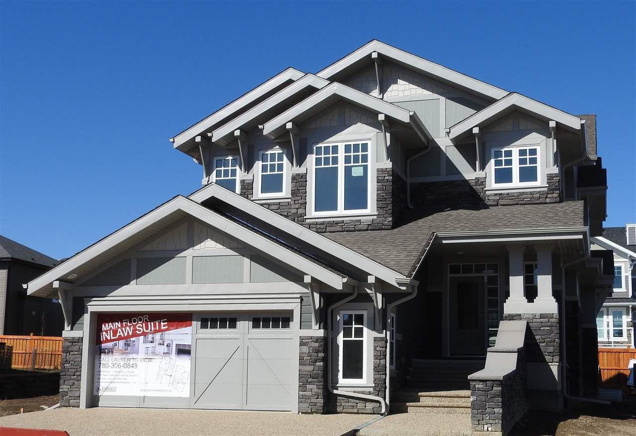 Main Photo: 1314 HAINSTOCK Way in Edmonton: Zone 55 House for sale : MLS®# E4108350