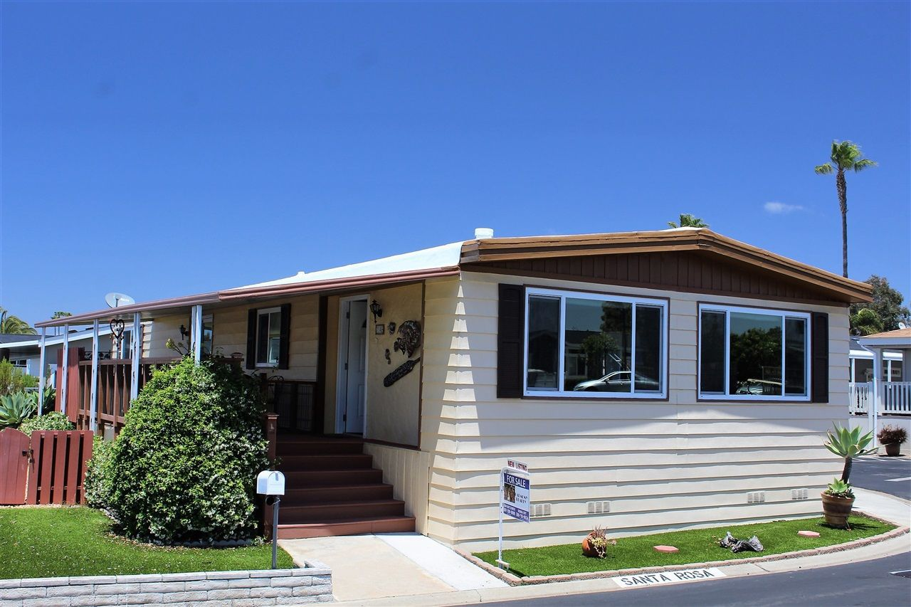 Main Photo: CARLSBAD WEST Manufactured Home for sale : 2 bedrooms : 7146 Santa Rosa #85 in Carlsbad