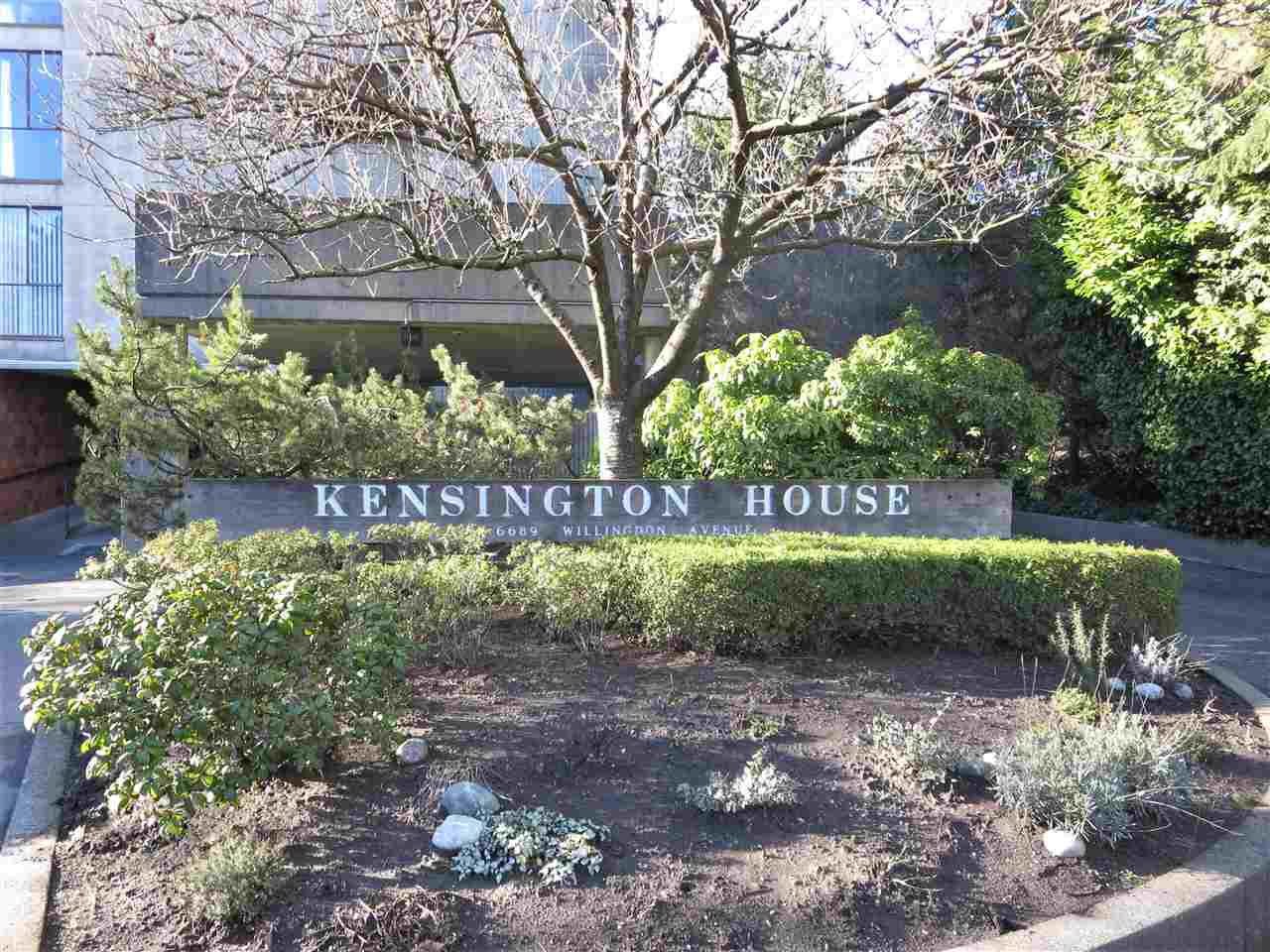 """Main Photo: 201 6689 WILLINGDON Avenue in Burnaby: Metrotown Condo for sale in """"KENSINGTON HOUSE"""" (Burnaby South)  : MLS®# R2316399"""