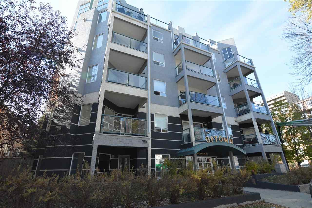 Main Photo: 406 10046 110 Street in Edmonton: Zone 12 Condo for sale : MLS®# E4139057