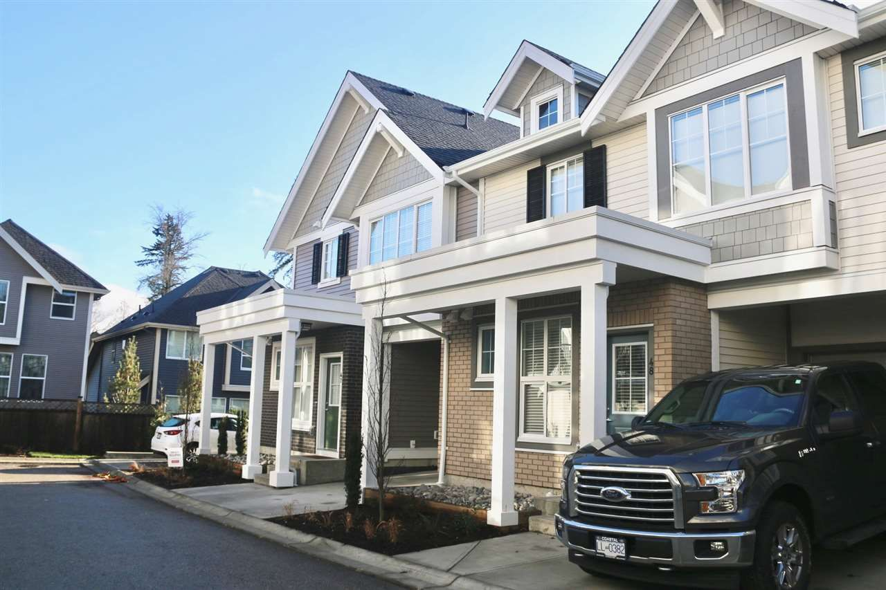 Main Photo: 48 7169 208A Street in Langley: Willoughby Heights Townhouse for sale : MLS®# R2331391