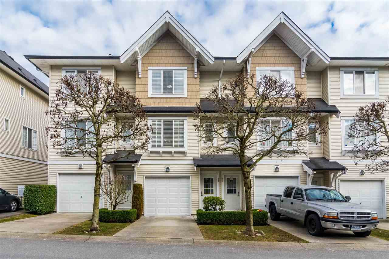 "Main Photo: 70 20560 66 Avenue in Langley: Willoughby Heights Townhouse for sale in ""Amberleigh"" : MLS®# R2346155"