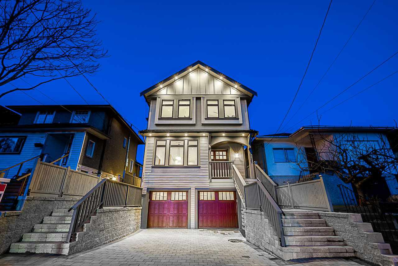 Main Photo: 1728 COTTON Drive in Vancouver: Grandview Woodland House 1/2 Duplex for sale (Vancouver East)  : MLS®# R2370304