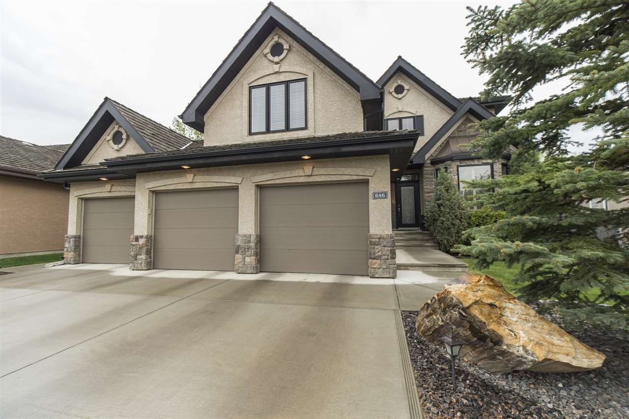 Main Photo: 646 Dartmouth Point in Edmonton: Zone 20 House for sale : MLS®# E4158897