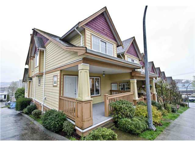Main Photo: 1 1222 CAMERON Street in New Westminster: Uptown NW Condo for sale : MLS®# V999361