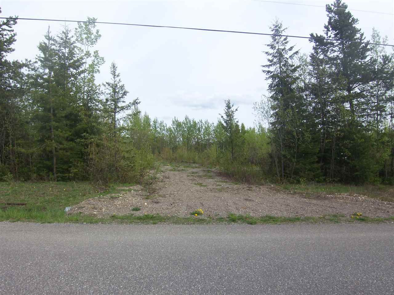 Main Photo: LOT 1 MATTHEWS Road in Quesnel: Quesnel - Rural North Home for sale (Quesnel (Zone 28))  : MLS®# R2064522