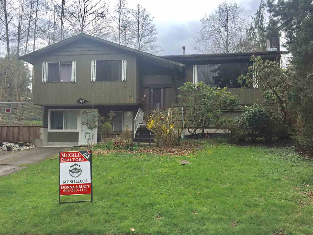 """Main Photo: 4724 206A Street in Langley: Langley City House for sale in """"Langley City"""" : MLS®# R2153783"""