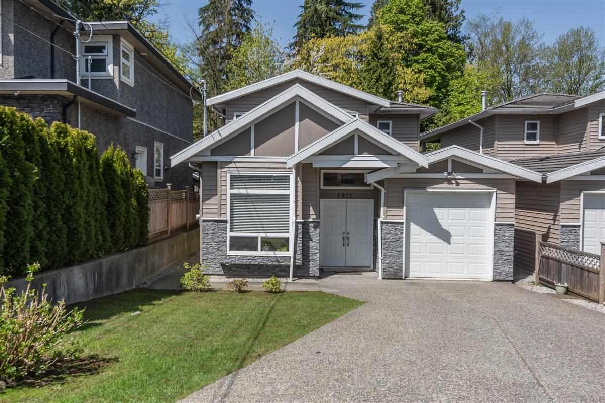 Main Photo: 7913 NURSERY Street in Burnaby: Burnaby Lake House 1/2 Duplex for sale (Burnaby South)  : MLS®# R2261704