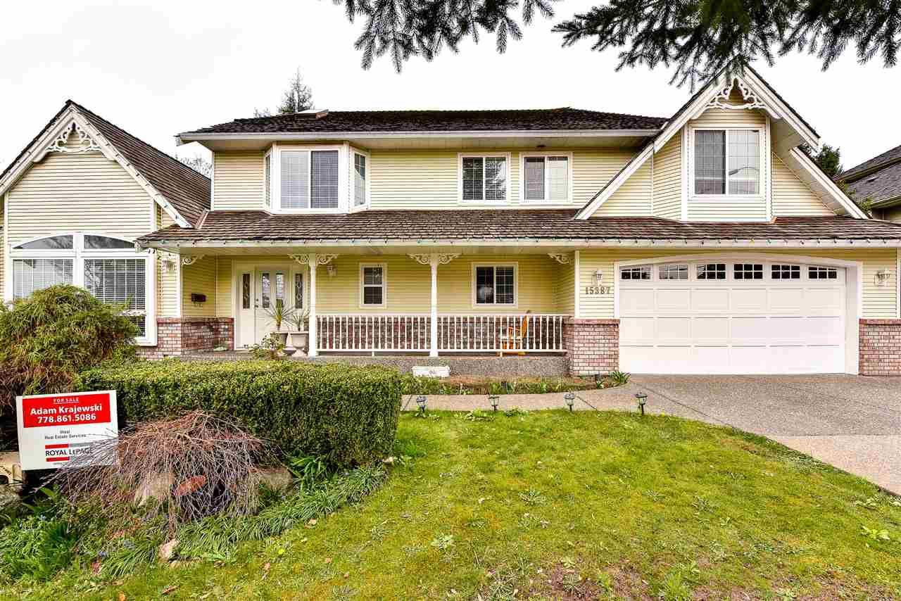 Main Photo: 15387 82 Avenue in Surrey: Fleetwood Tynehead House for sale : MLS®# R2279601