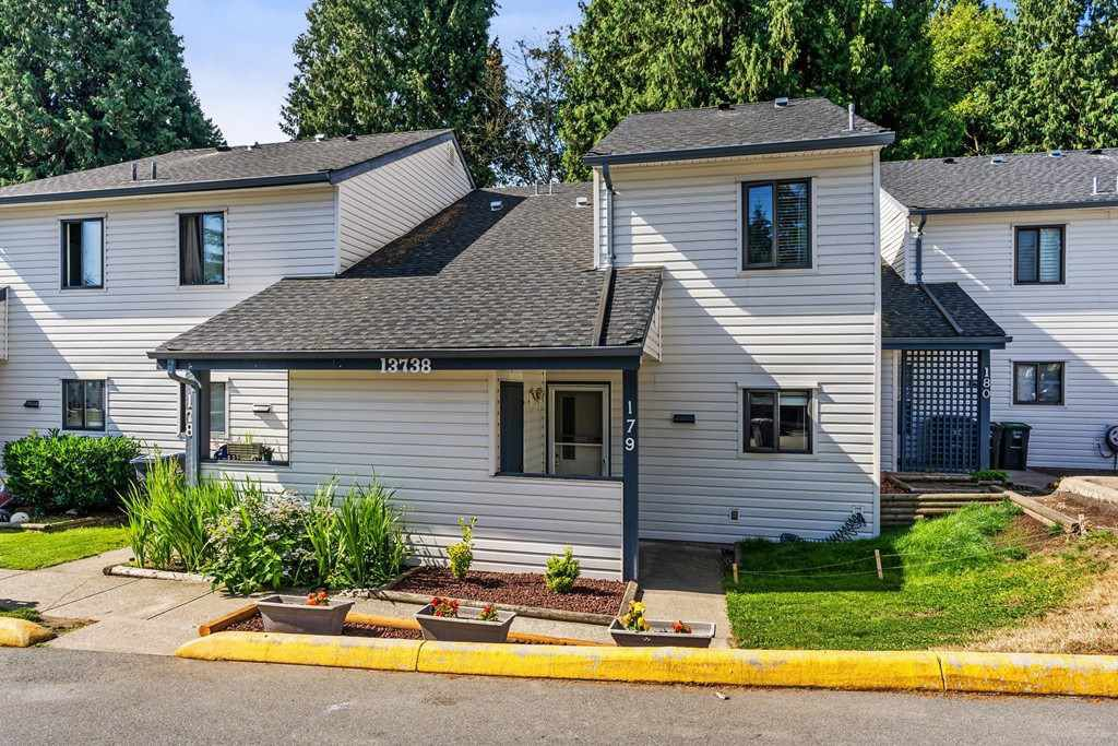 "Main Photo: 179 13738 67 Avenue in Surrey: East Newton Townhouse for sale in ""Hyland Creek"" : MLS®# R2289611"
