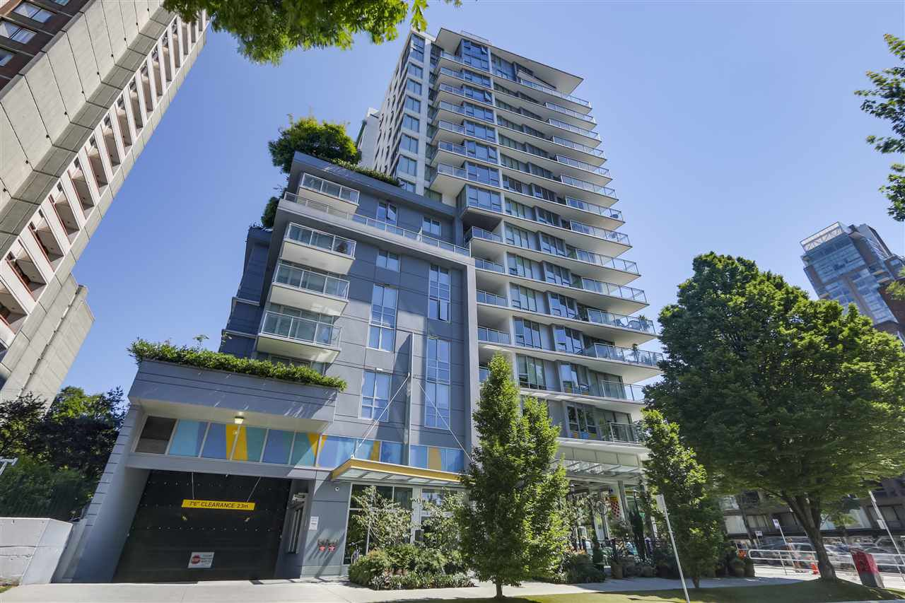 """Main Photo: 1107 1009 HARWOOD Street in Vancouver: West End VW Condo for sale in """"MODERN"""" (Vancouver West)  : MLS®# R2292146"""