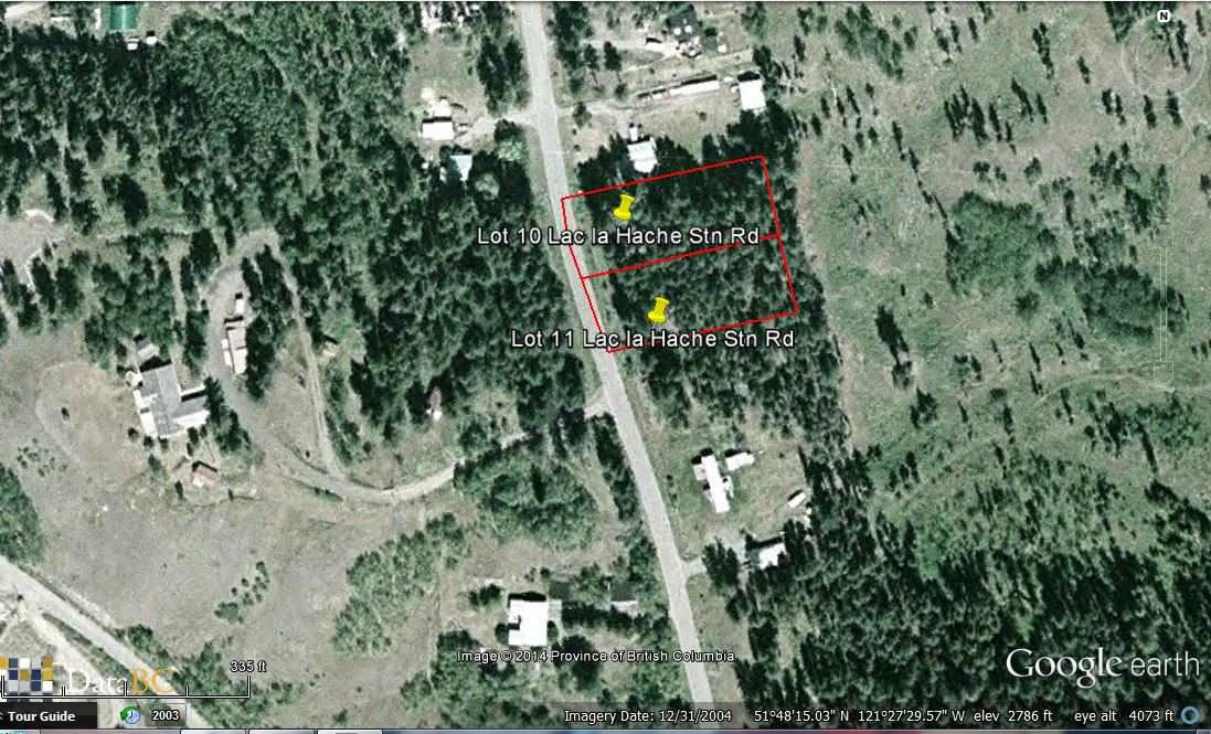 Main Photo: LOT 11 LAC LA HACHE STATIION Road: Lac la Hache Home for sale (100 Mile House (Zone 10))  : MLS®# R2326514