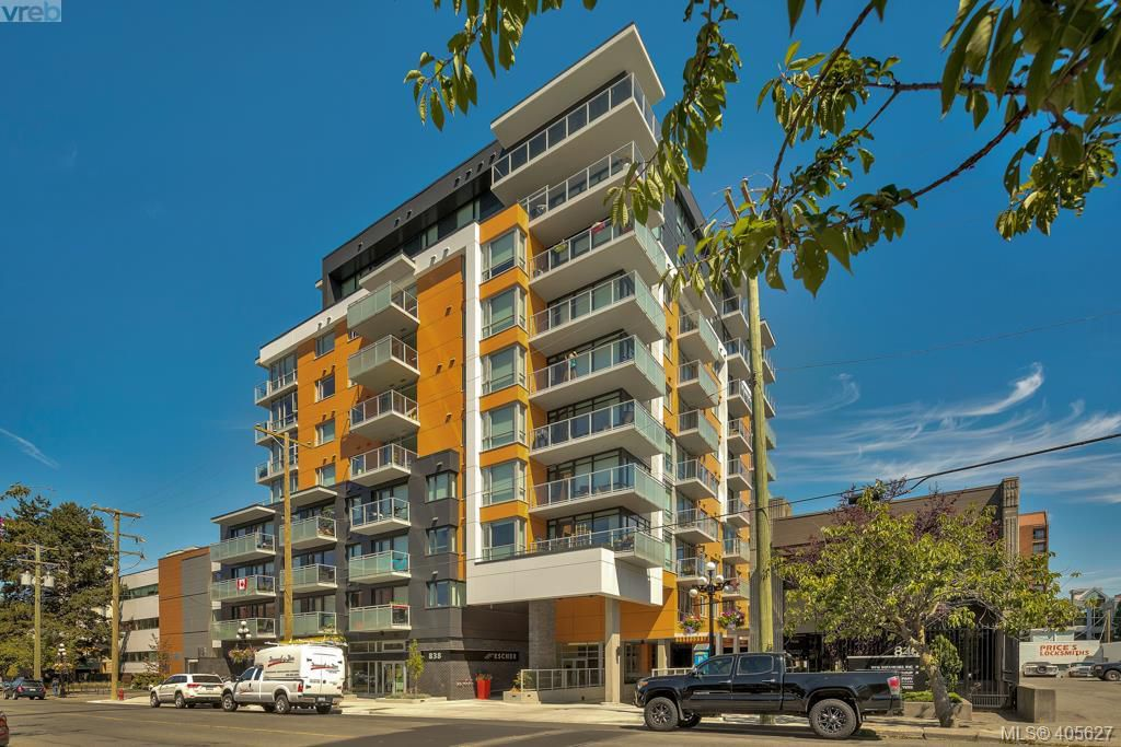 Main Photo: 806 838 Broughton Street in VICTORIA: Vi Downtown Condo Apartment for sale (Victoria)  : MLS®# 405627