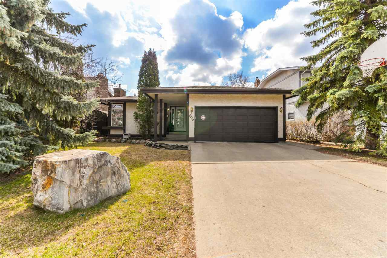 Main Photo: 63 WAKINA Drive in Edmonton: Zone 22 House for sale : MLS®# E4155549