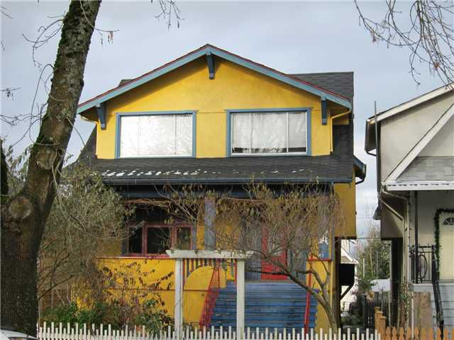 Main Photo: 43 W 18TH Avenue in Vancouver: Cambie House for sale (Vancouver West)  : MLS®# V876047