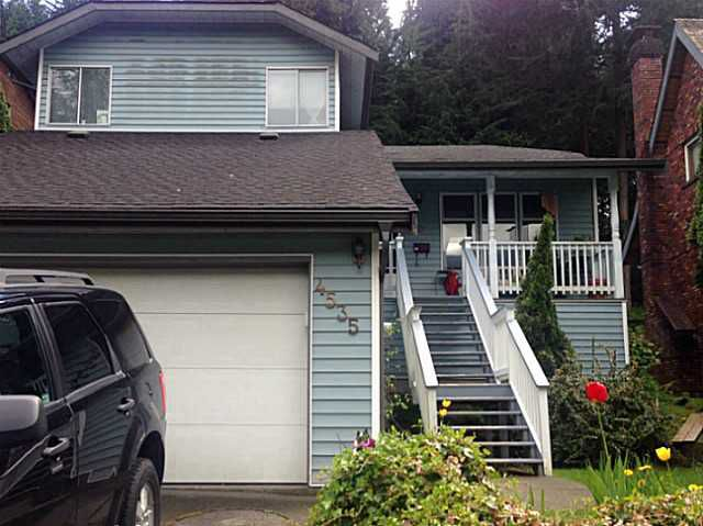 Main Photo: 4535 SUMMERSIDE Lane in North Vancouver: Deep Cove House for sale : MLS®# V1064925