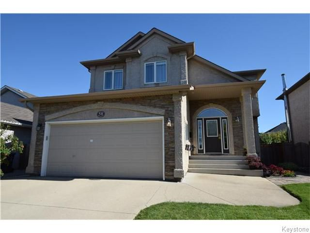 Main Photo: 58 Haverstock Crescent in Winnipeg: Linden Woods Residential for sale (1M)  : MLS®# 1622551
