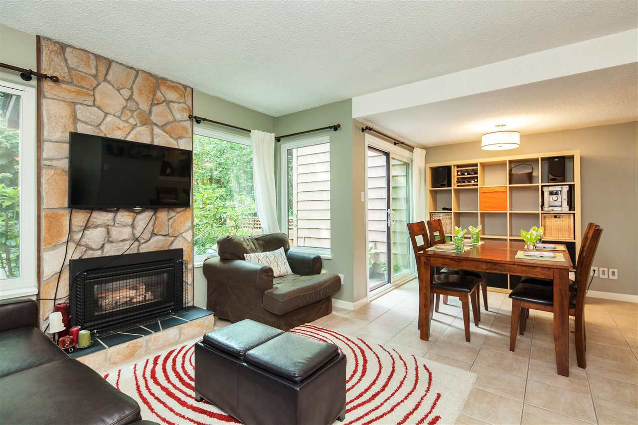 """Main Photo: 4763 FERNGLEN Place in Burnaby: Greentree Village Townhouse for sale in """"Greentree Village"""" (Burnaby South)  : MLS®# R2196465"""