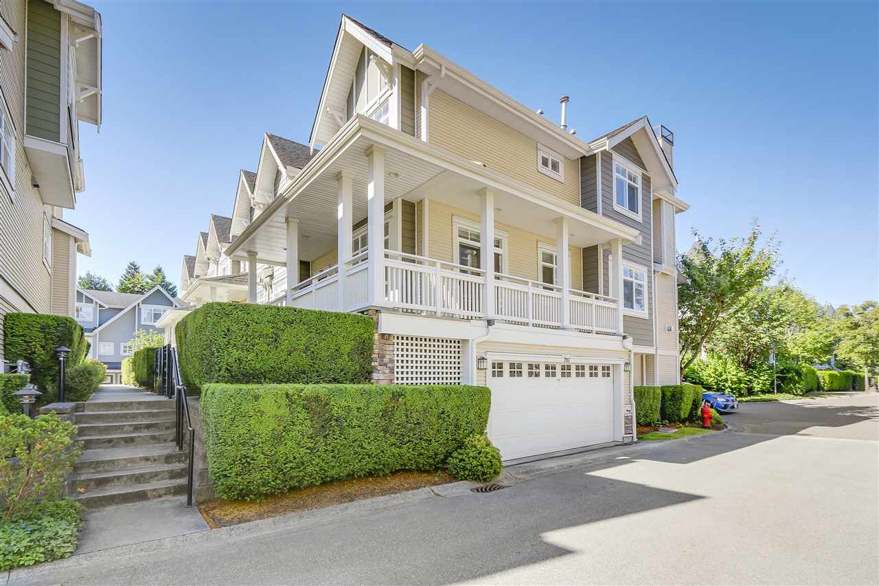 Main Photo: 7110 ALGONQUIN MEWS in Vancouver: Champlain Heights Townhouse for sale (Vancouver East)  : MLS®# R2189646