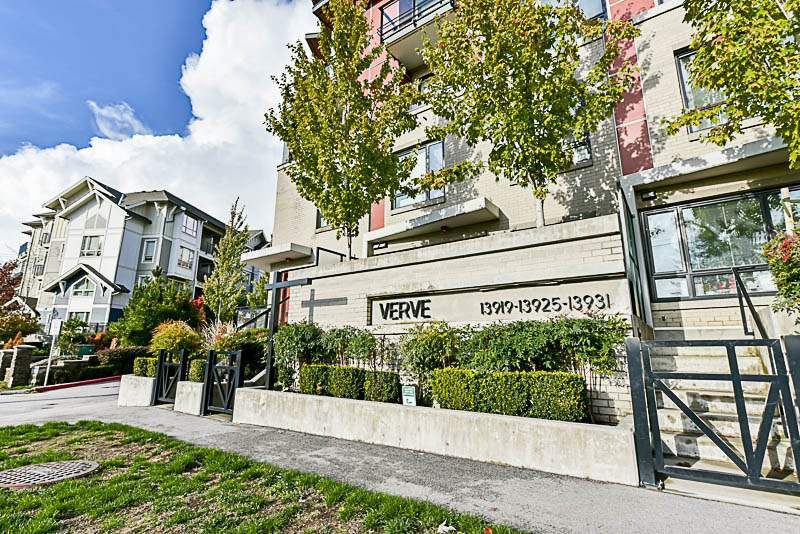 "Main Photo: 109 13919 FRASER Highway in Surrey: Whalley Condo for sale in ""VERVE"" (North Surrey)  : MLS®# R2216255"