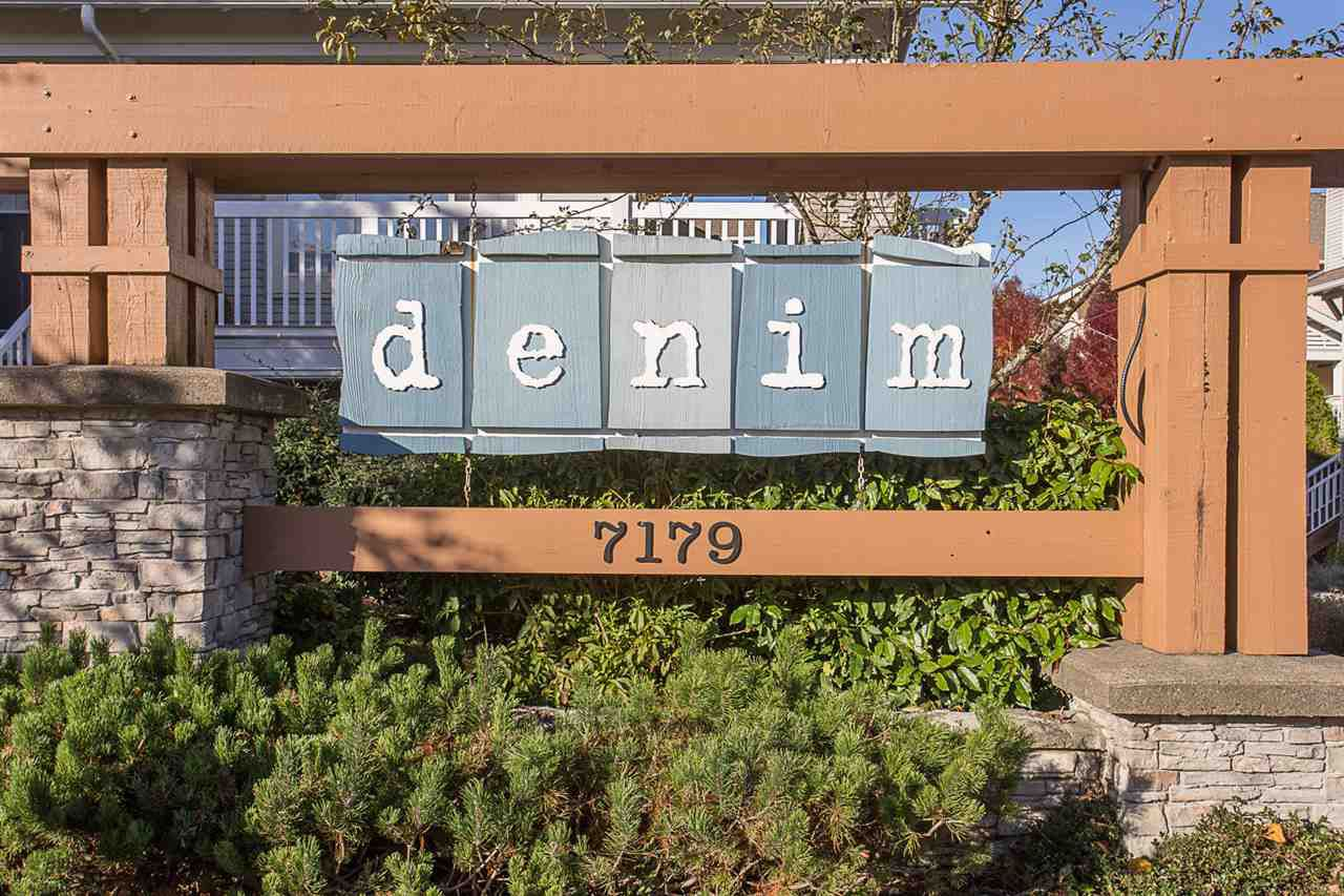 """Main Photo: 81 7179 201 Street in Langley: Willoughby Heights Townhouse for sale in """"DENIM"""" : MLS®# R2216619"""