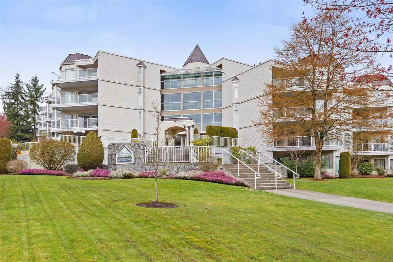 "Main Photo: 320 1219 JOHNSON Street in Coquitlam: Canyon Springs Condo for sale in ""MOUNTAINSIDE PLACE"" : MLS®# R2255929"