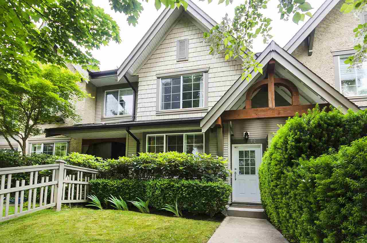 """Main Photo: 72 8415 CUMBERLAND Place in Burnaby: The Crest Townhouse for sale in """"ASHCOMBE"""" (Burnaby East)  : MLS®# R2328534"""