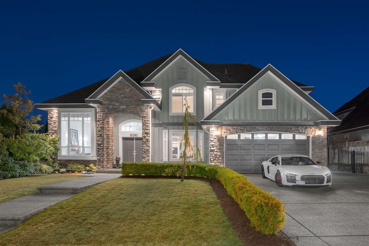 Main Photo: 16382 36A Avenue in Surrey: Morgan Creek House for sale (South Surrey White Rock)  : MLS®# R2352104