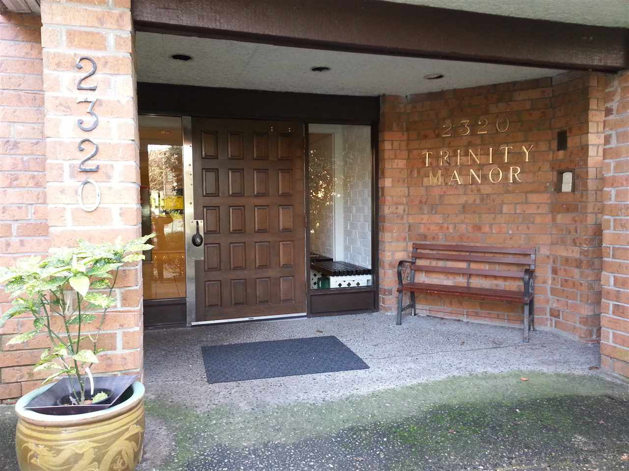 Main Photo: 304 2320 TRINITY Street in Vancouver: Hastings Condo for sale (Vancouver East)  : MLS®# R2037407