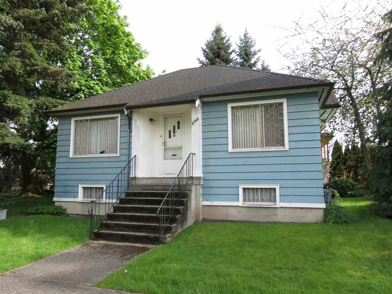 Main Photo: 2708 E 21ST Avenue in Vancouver: Renfrew Heights House for sale (Vancouver East)  : MLS®# R2064151