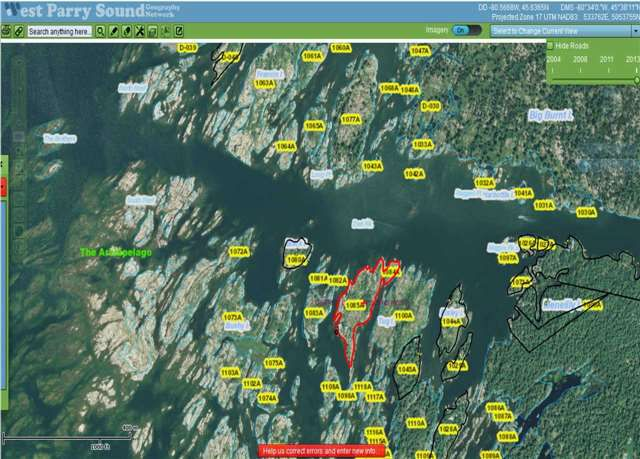 Main Photo: 1085 Georgian Bay Water in The Archipelago: House (Bungalow) for sale : MLS®# X3505942