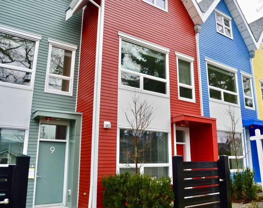 """Main Photo: 8 1328 E 23RD Avenue in Vancouver: Knight Townhouse for sale in """"DICKENS AT KENSINGTON"""" (Vancouver East)  : MLS®# R2238400"""