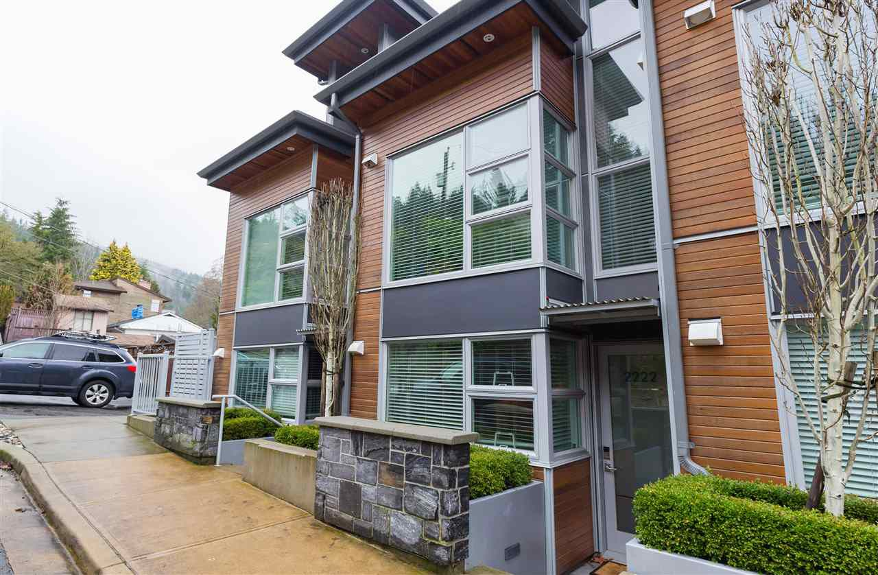 """Main Photo: 2222 CALEDONIA Avenue in North Vancouver: Deep Cove Townhouse for sale in """"Cove Gardens"""" : MLS®# R2242737"""
