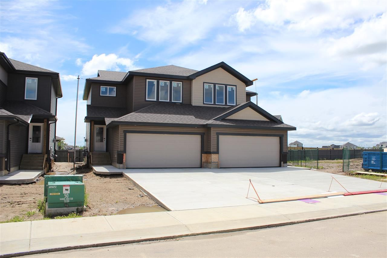 Main Photo: 405 GENESIS Court: Stony Plain House Half Duplex for sale : MLS®# E4136772