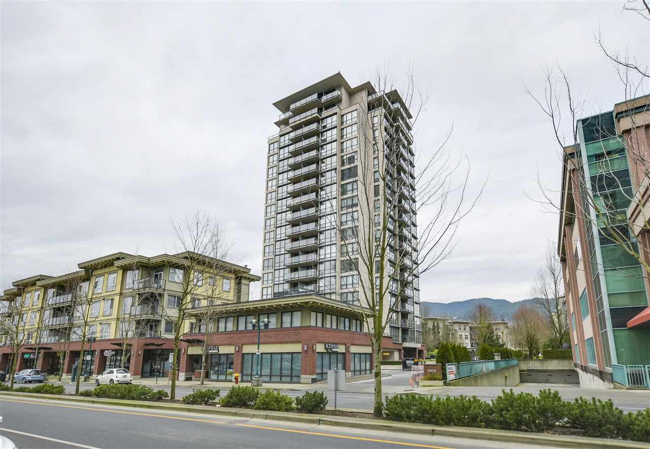 "Main Photo: 704 2959 GLEN Drive in Coquitlam: North Coquitlam Condo for sale in ""The Parc"" : MLS®# R2337511"